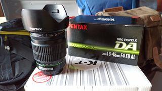 Objetivo Pentax 16-45 f4