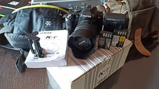 Pentax KR + 18-55mm