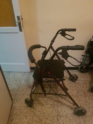 Andador de 4 ruedas