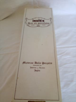 Muñeca de porcelana antigua Ramon Ingles
