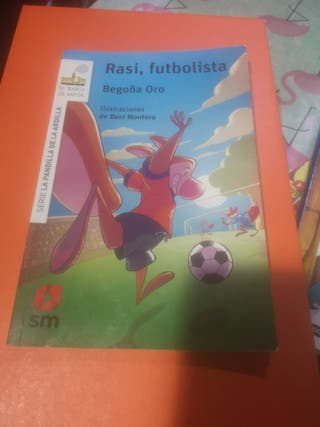 libro Rasi futbolista