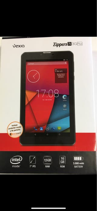 Tablet 7 pulgadas 3G y Wifi