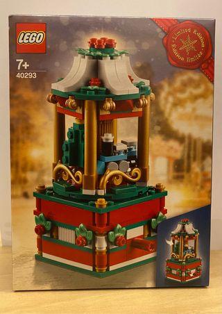LEGO 40293, Carrusel Navidad