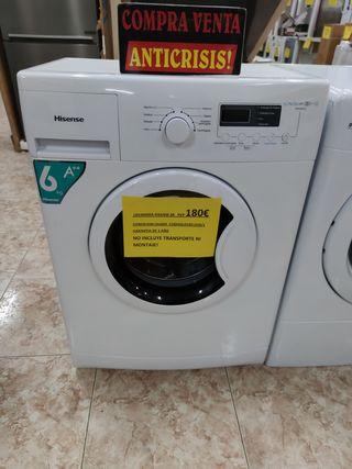 lavadora Hisense 6k A++