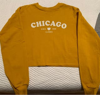 Sudadera Chicago amarilla