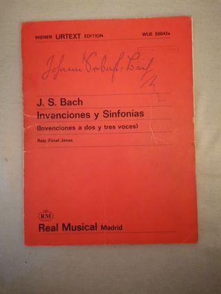 J. S. BACH. Intervenciones y sinfonias