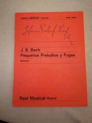 J. S. Bach: pequeños preludio y fugas