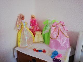 Barbies y accesorios