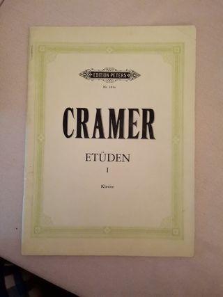 22 estudios de CRAMER I klavier