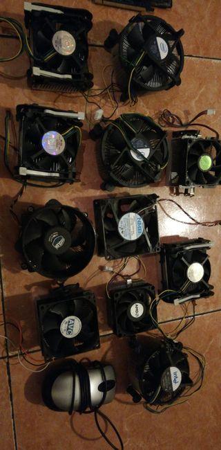 ventiladores de CPUs en buen estado