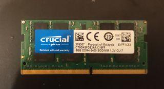8gb ddr4 memoria RAM so-dimm