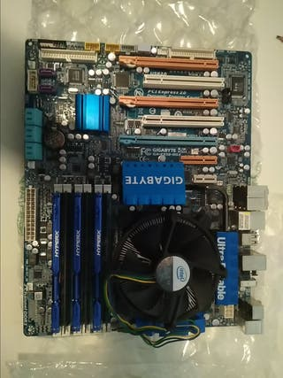placa base gigabyte Ga-EX58 DS4+ i7 920