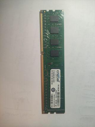 Memoria Ram crucial 8gb