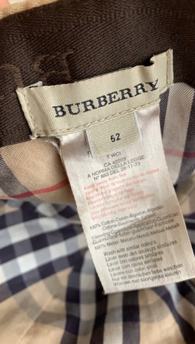 Gorra /Visera Burberry