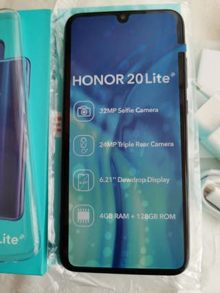Huawei Honor 20 Lite, 128Gb, Triple Camera