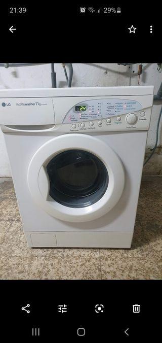 lavadora 7kilo lg con garantía de 6meses