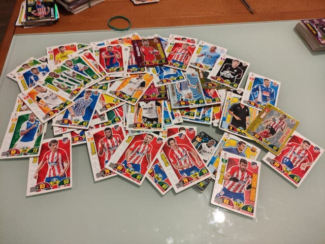 Cromos Adrenalyn 2017-2018