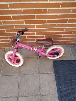 bici aprendizaje sin pedales