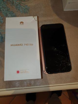huawei p40 lite cristal de pantalla roto