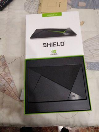 nvidia shield tv + disco duro externo