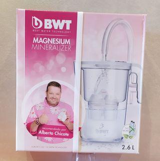 jarra para agua con filtro