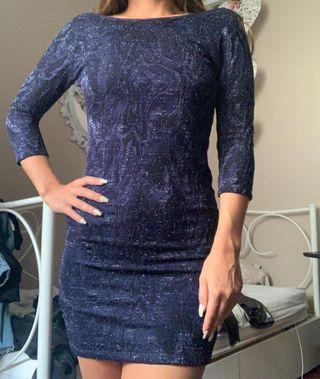 Vestido corto fiesta Zara