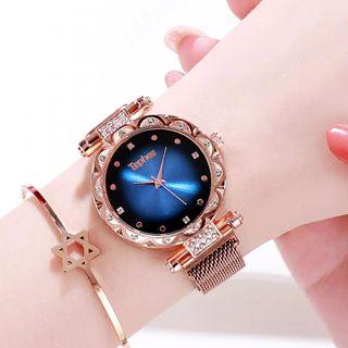 Reloj Dial elegant Azúl.