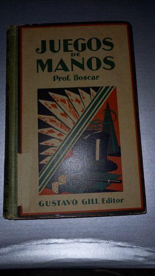 libro de magia Juegos de Manos