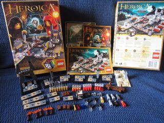 Lego Heroica Las Cavernas de Nathuz (Lego 3859)