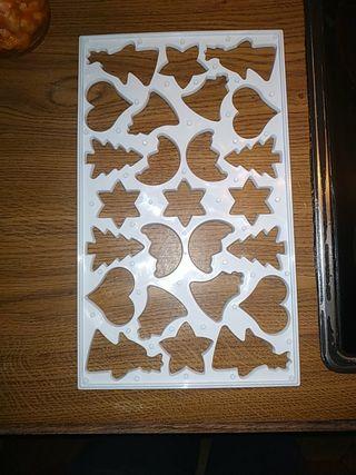 molde galletas navidad
