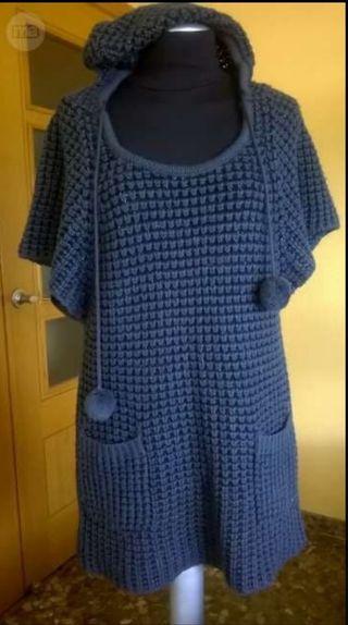 Jersey de lana gruesa