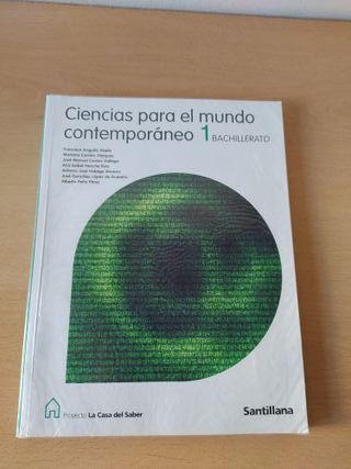 Libro de Ciencias para el mundo contemporáneo 1 ba