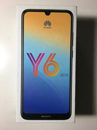 Huawei Y6 2019 Azul Nuevo
