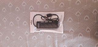 HUB USB - 4 PORTS - NEUFS
