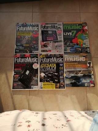 Lote Revistas Future Music y Computer Music