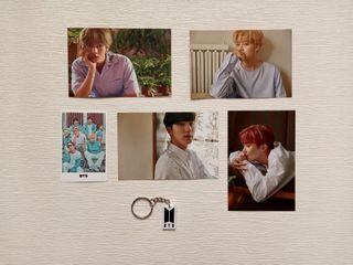 Photocards y llavero BTS