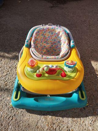 Andador 3 en 1 Tutti Frutti