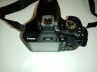 Canon 2000D y Antorcha Anular de Alta Potencia LED