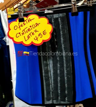 Faja Colombianas Cinturilla de latex