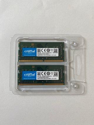 Memoria RAM DDR4-3200 8GB x2 / 16GB