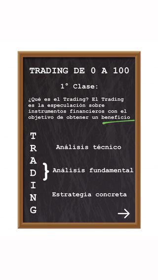 TRADING DE 0 A 100