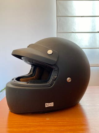 Casco Nexx X.G100 talla S/M negro mate
