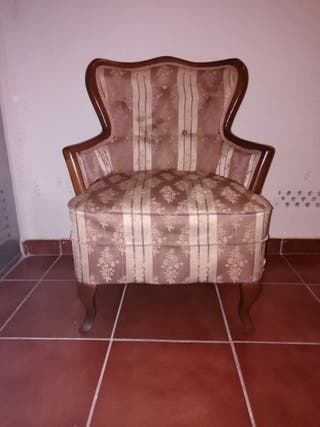 sillón descalzadora vintage
