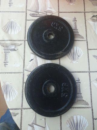 discos 5 kg