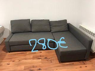 Sofá cama esquina con almace - IKEA - FRIHETEN