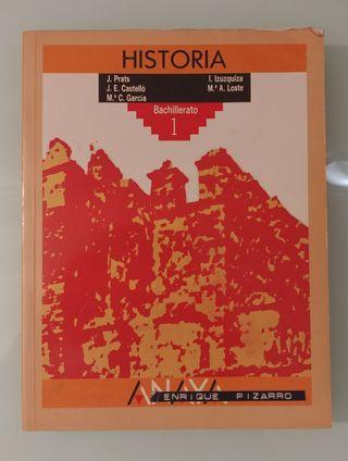 HISTORIA 1 BUP Anaya 1° BUP Bachillerato