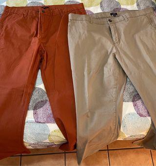 Pantalones chinos hombre tallas grandes
