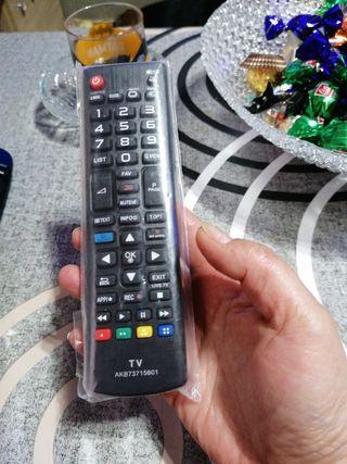 mando television LG a estrenar