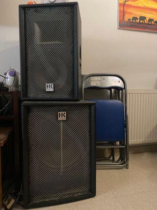 Equipo de sonido HK