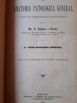 Manual de anatomía y patología general